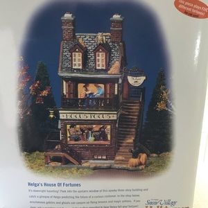 NWT Dept 56 Helga's House of Fortunes- Retired